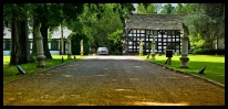 The drive of Davenport Park Hall, Manchester where I am a preferred photography supplier