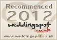 Weddingspot recommended supplier logo