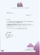 Testimonial letter from a school photography client